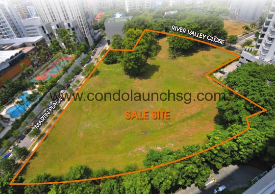 The Martin Residences_site