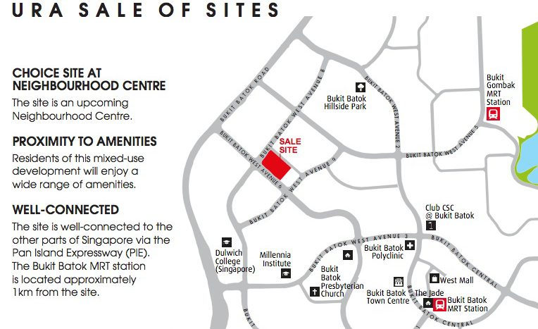 Mixed Development at Bukit Batok West Ave 6