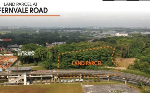 Fernvale Road - Actual Site
