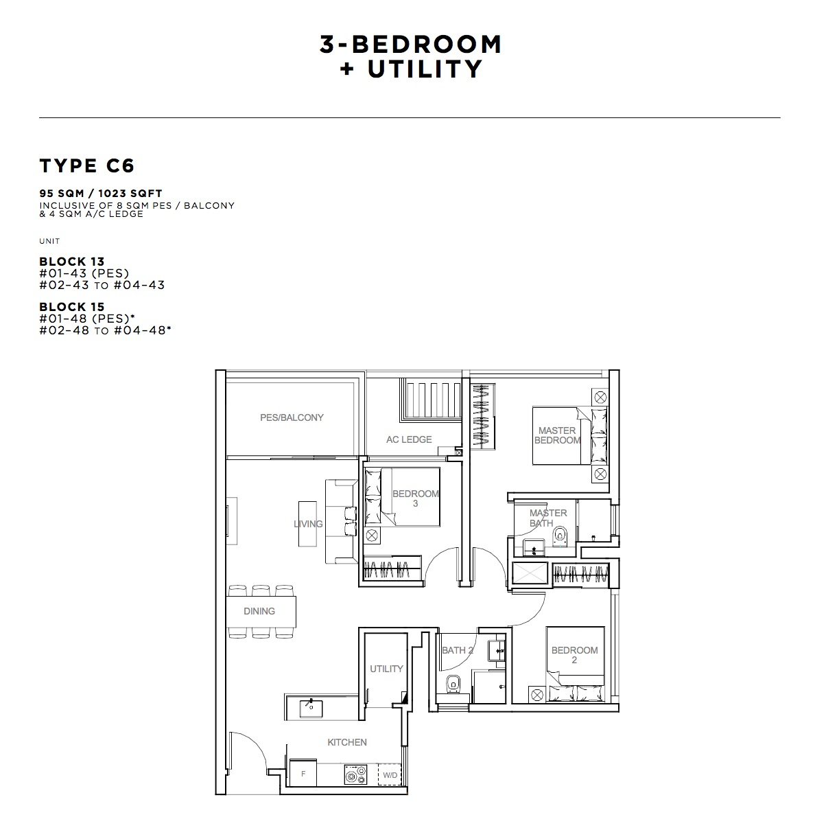 how much are utilities for a 3 bedroom apartment 28